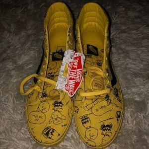 Vans Charlie Brown/Peanuts Sk8 Hi Size 10